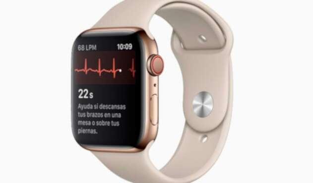Sensor de ritmo cardíaco del Apple Watch