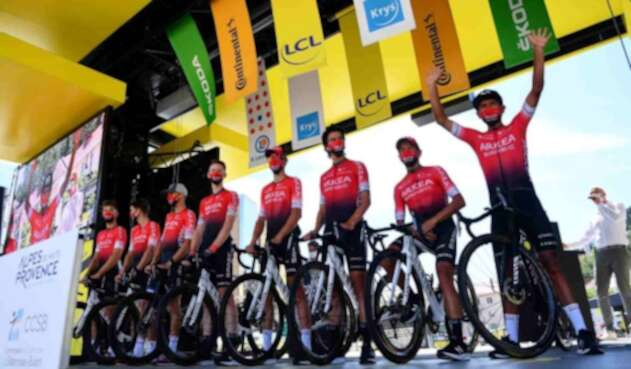 Arkéa-Samsic - Tour de Francia