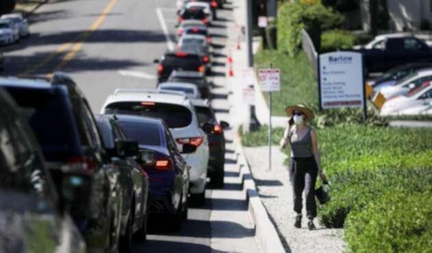 Carros en Los Ángeles, California