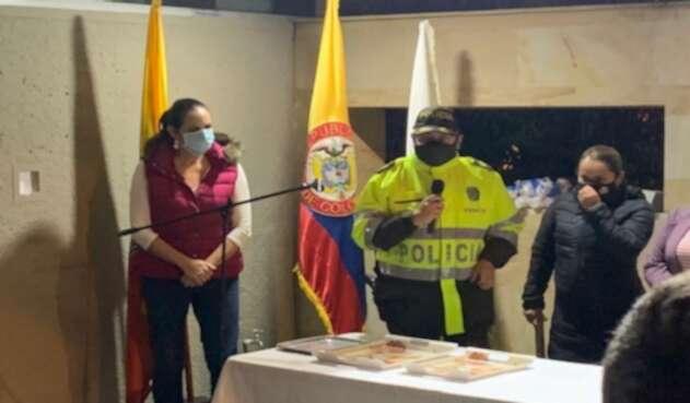 """Ciudadanos le dicen a María Fernanda Cabal """"estudie, vaga"""" en el CAI de El Codito"""