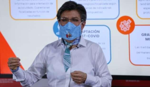 Claudia López, Bogotá