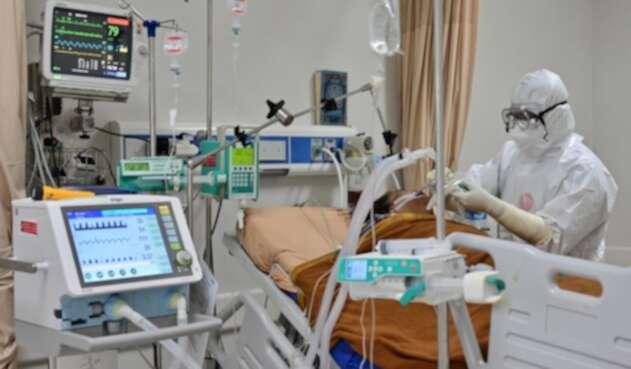 Pacientes contagiados de coronavirus