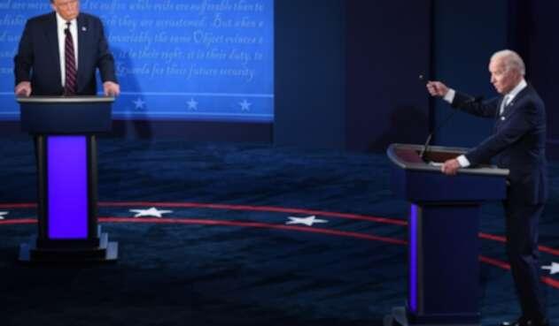 Debate presidencial en EE.UU. entre Joe Biden y Donald Trump