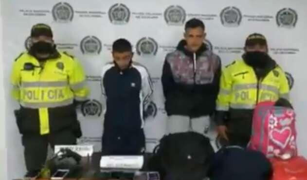 Delincuentes en Bogotá