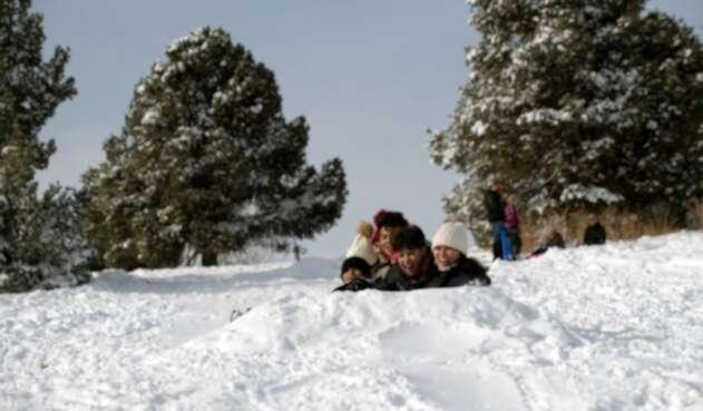 Nieve en Denver, Colorado