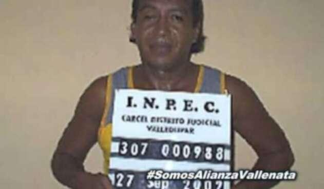 Diomedes Díaz en la cárcel