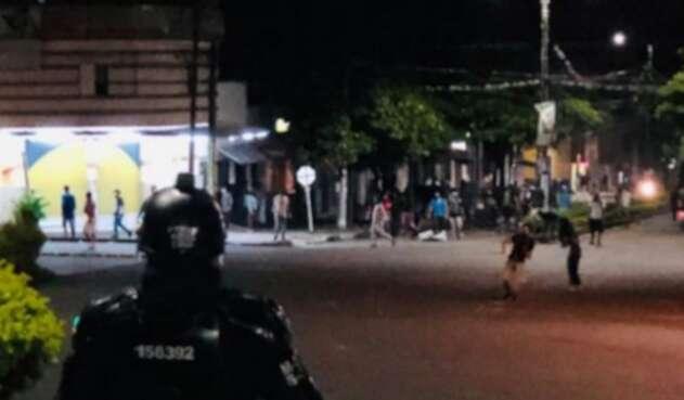 Disturbios en Ibagué
