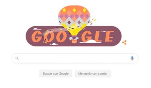 Doodle de Google para el equinoccio de otoño