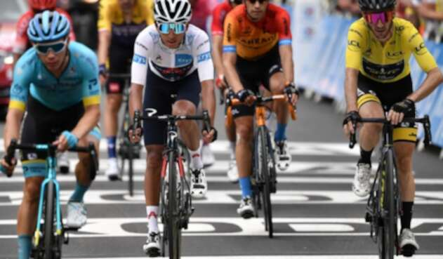 Egan Bernal, mejor joven en el Tour de Francia 2020