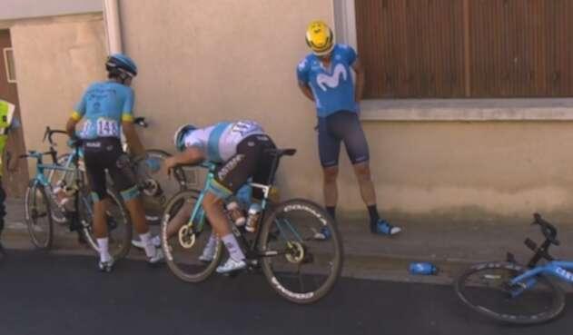Caída, Tour de Francia etapa 11