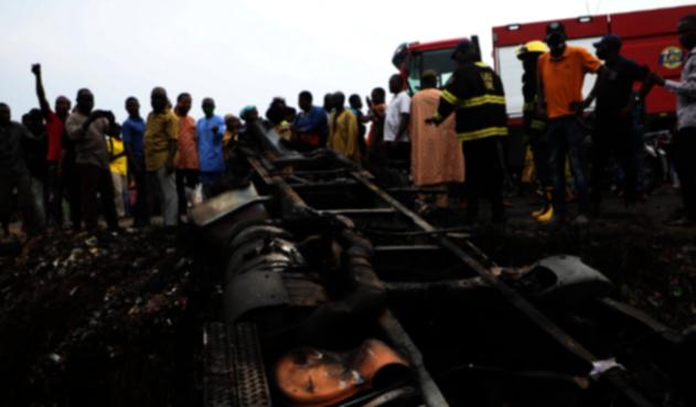 Explosión Nigeria