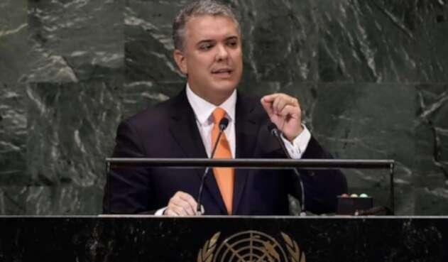 Duque en la ONU