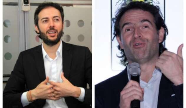 Daniel Quintero y Federico Gutiérrez se enfrentaron