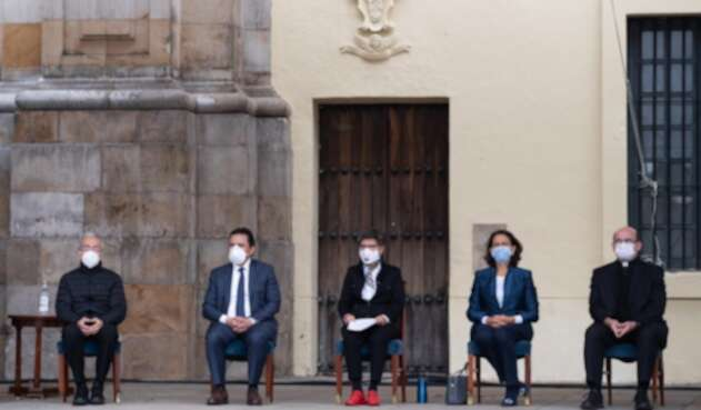 Acto de perdón en Bogotá