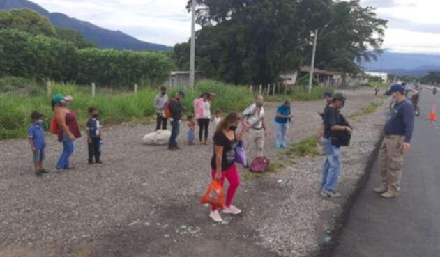 Migrantes venezolanos en Norte de Santander
