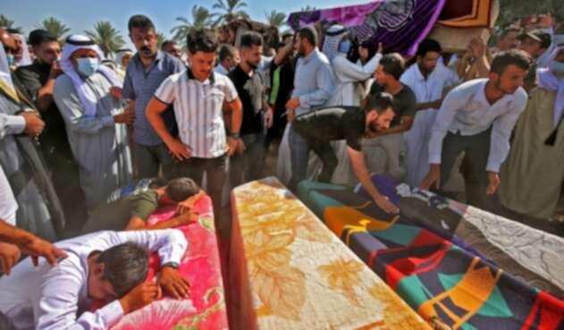 Muertos en ataque con cohete en Bagdad