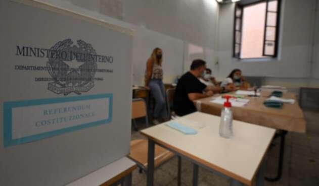 Elecciones en Italia - referendo constitucional