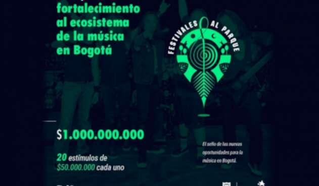 La Gerencia de Música del Idartes entregará 20 estímulos de $50.000.000 cada uno, para dinamizar el trabajo colaborativo musical.