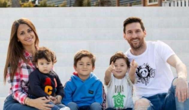 Familia de Lionel Messi