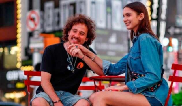 Luisito Comunica y su novia Ary Tenorio