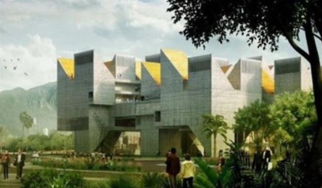 Infografía del futuro Museo Nacional de la Memoria Histórica de Colombia