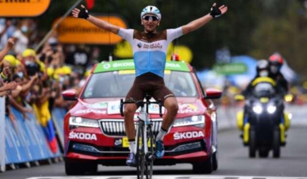 Nans Peters ganó la etapa 8 del Tour de Francia 2020