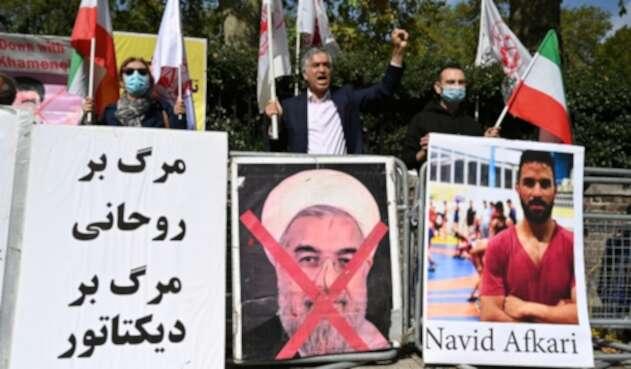 Navid Afkari - Irán