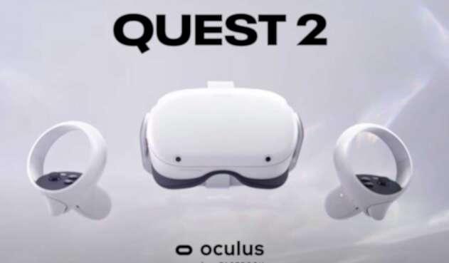 Lentes VR Oculus Quest 2
