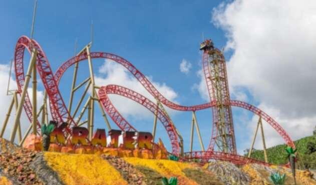 Parque del Café - montaña rusa Krater