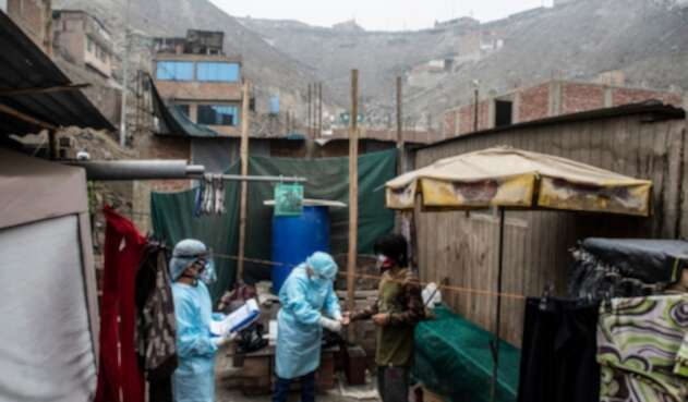 Coronavirus en Perú - niños contagiados