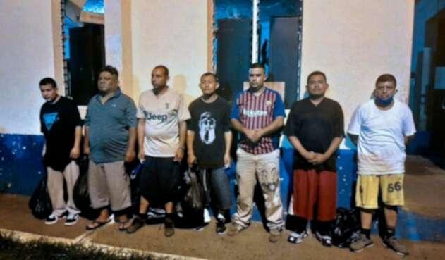 Policías liberados en Guatemala