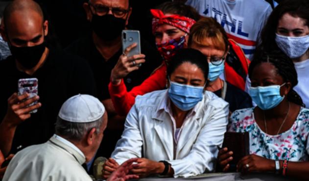 Papa Francisco retoma audiencias generales presenciales