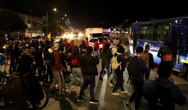 Protestas en la 170, 11 de septiembre de 2020