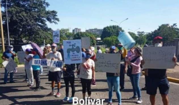 Protestas en Venezuela, 25 de septiembre de 2020