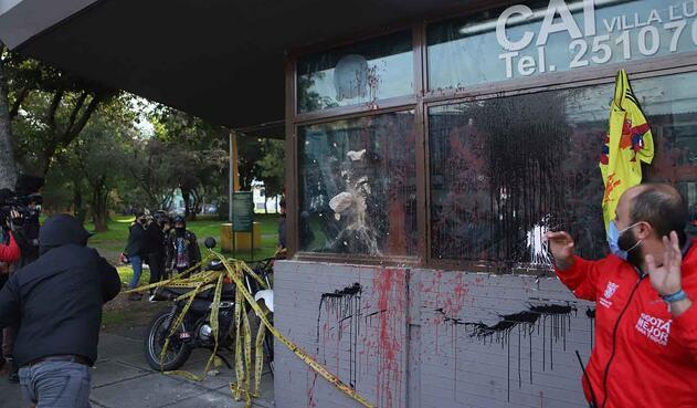 Protestas en Villa Luz por la muerte de Javier Ordóñez