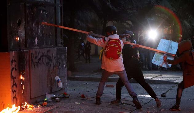 Alias Uriel, cabecilla del ELN, reconoció que incitaron a destruir los CAI  | La FM