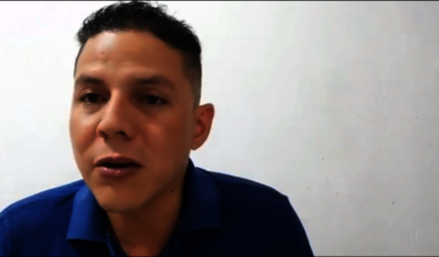 Captura de video Nicolás Jurado Monsalve