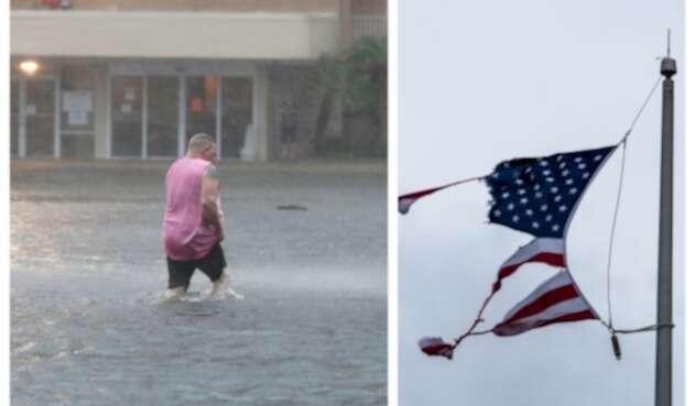 Paso de huracán Sally por EE.UU.