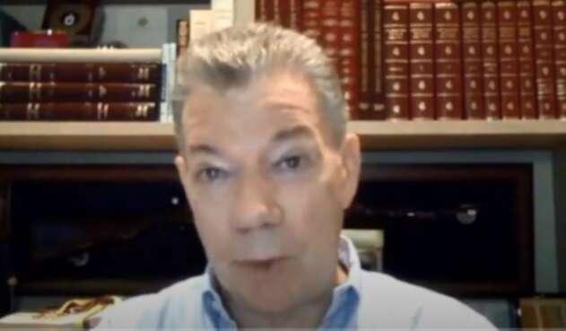 Juan Manuel Santos presentación del libro