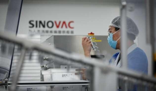 Vacuna china Sinovac contra el coronavirus