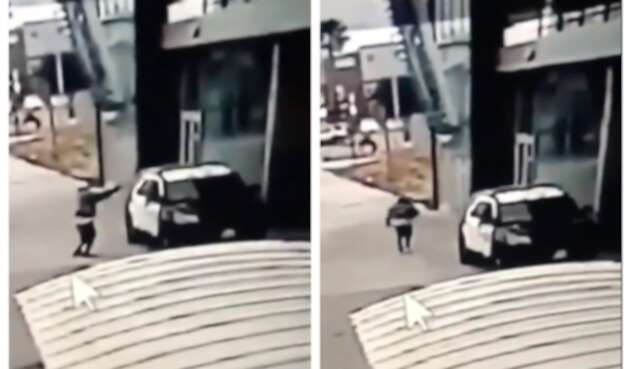 Hombre dispara contra dos policías en Estados Unidos