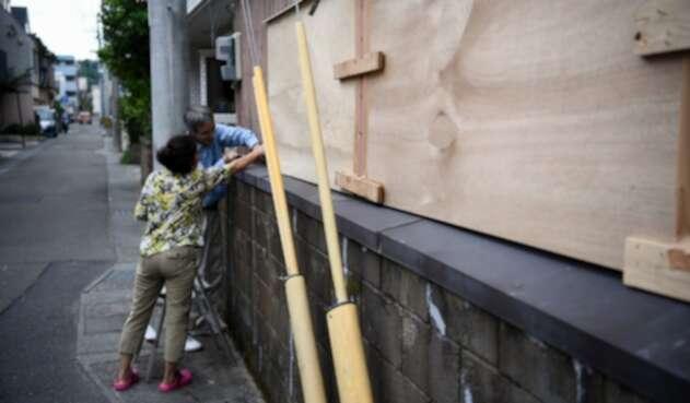 Japón se prepara para llegada de tifón Haishen