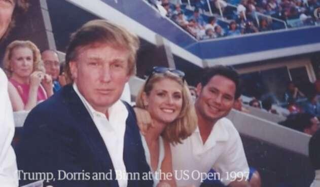 Trump y Amy Dorris
