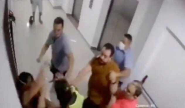 Agresión a médica en Barranquilla