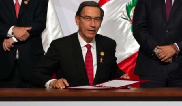 Expresidente del Perú, Martín Vizcarra