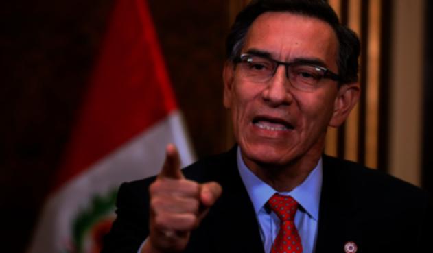 Congreso de Perú destituye al presidente Martín Vizcarra   La FM