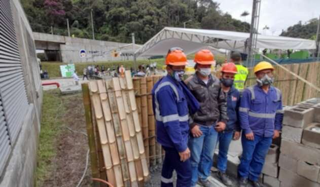 Los trabajadores del Túnel de La Línea afirmaron que se sienten orgullos de la obra