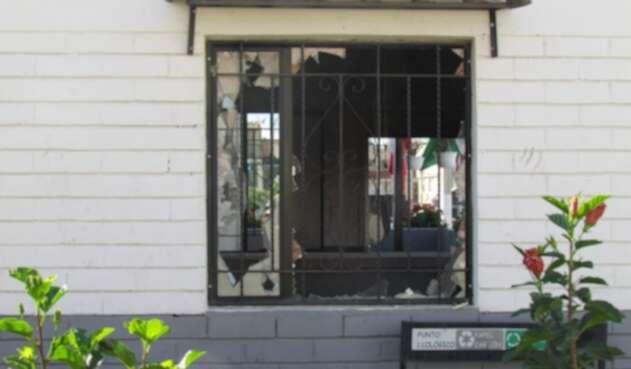 Daños tras motín en estación de Policía en Soacha