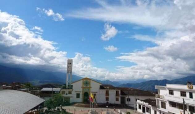 Municipio de Policarpa en la cordillera de Nariño