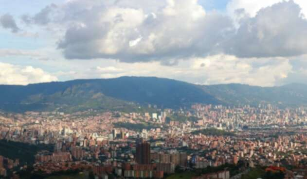 Contaminación en Medellín